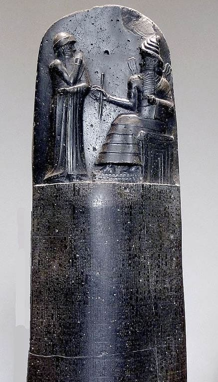 The Stele of Hammurabi