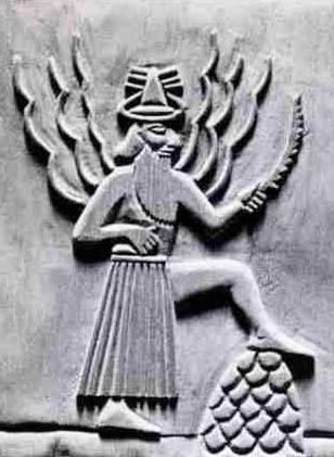 Utu Sumerian sun god