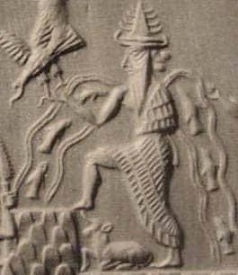 Enki Sumerian sun god