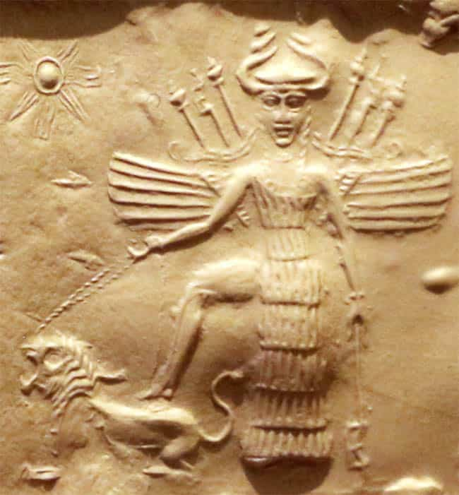 Inanna Sumerian goddess