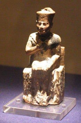 Khufu's statue