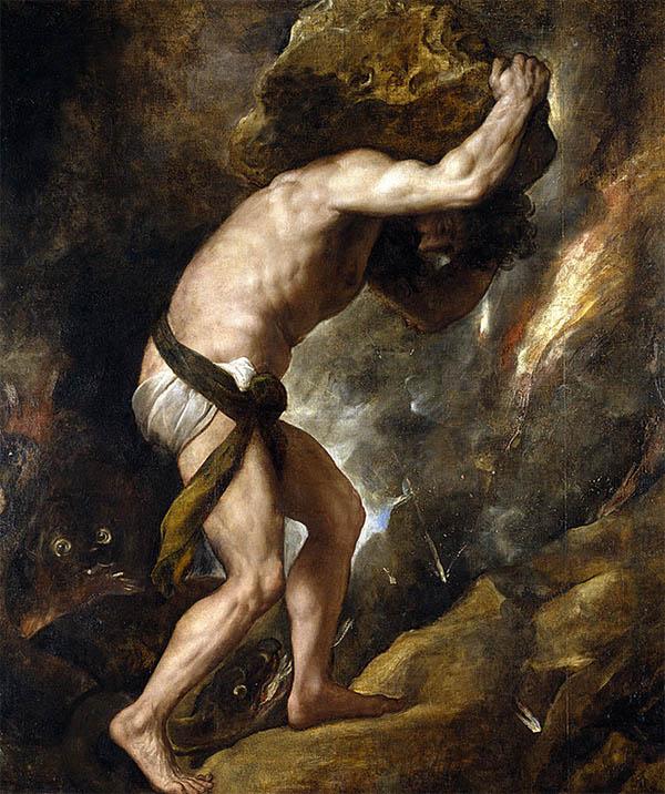 Sisyphus Painting