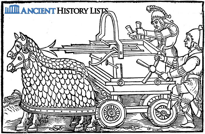 Carroballista Roman Military