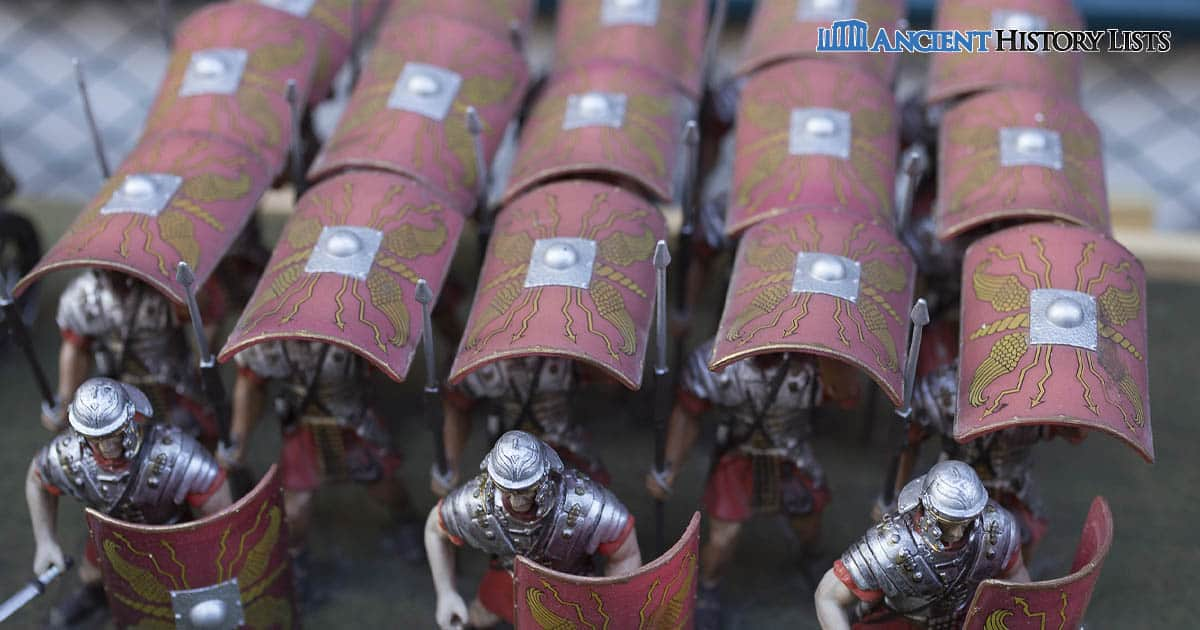 Roman military tactics