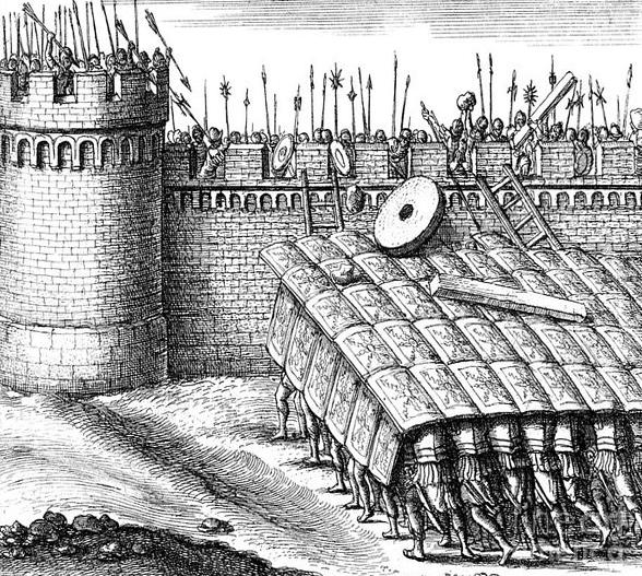 Testudo Roman Military