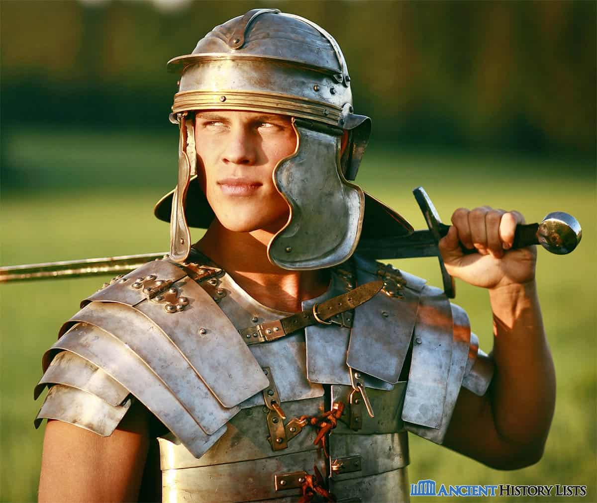 Lorica Segmentata Roman body armor