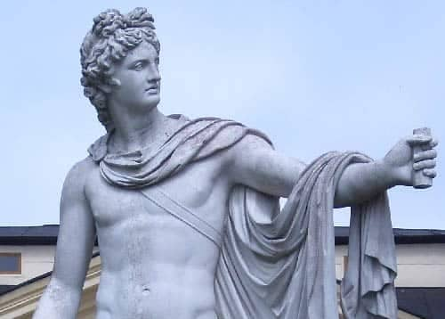 Apollo, the Roman god of sun, music, and prophecy