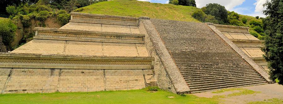 Cholula Maya Pyramid