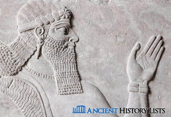 Hammurabi king of Babylonia