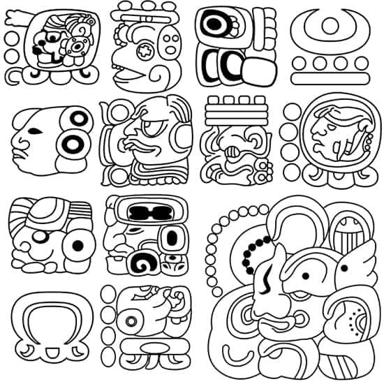 Maya Hieroglyphs