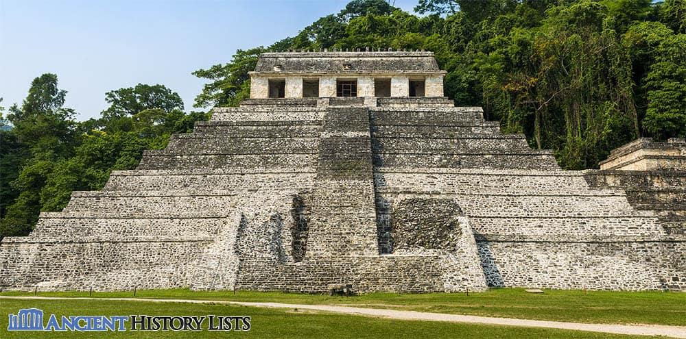 Maya Temple Inscriptions