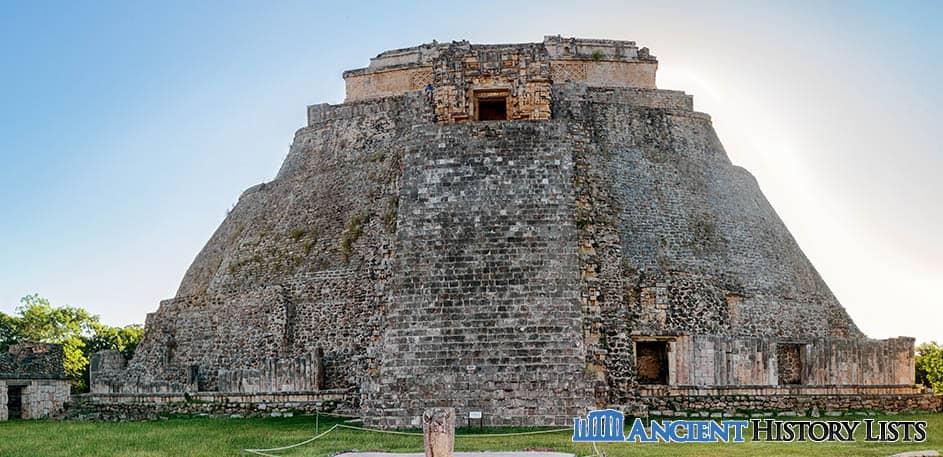 Uxmal temple Mayan